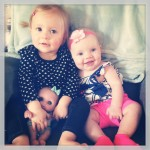 Leighton and Alivia: cousins and BFF's